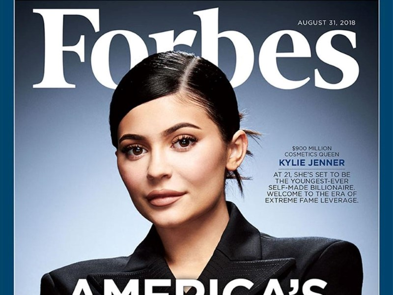 Kylie Jenner, almost billionaire